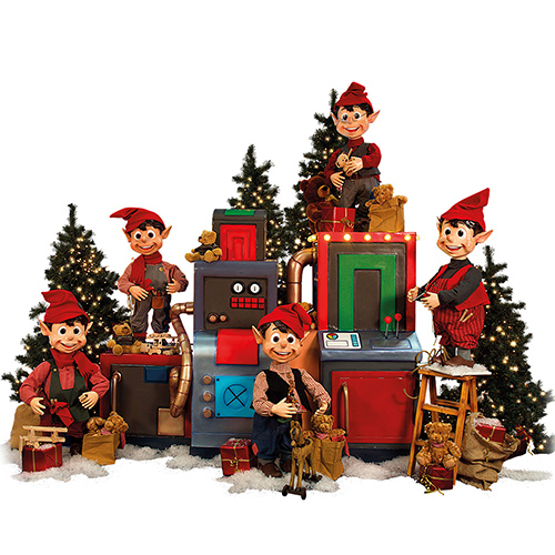 christmas - Animatronic Christmas Decorations