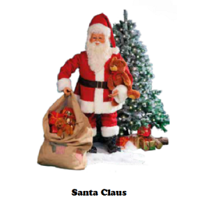 See what we have regarding Santa Claus